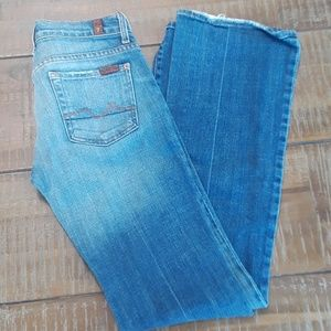 Blue classic jeans